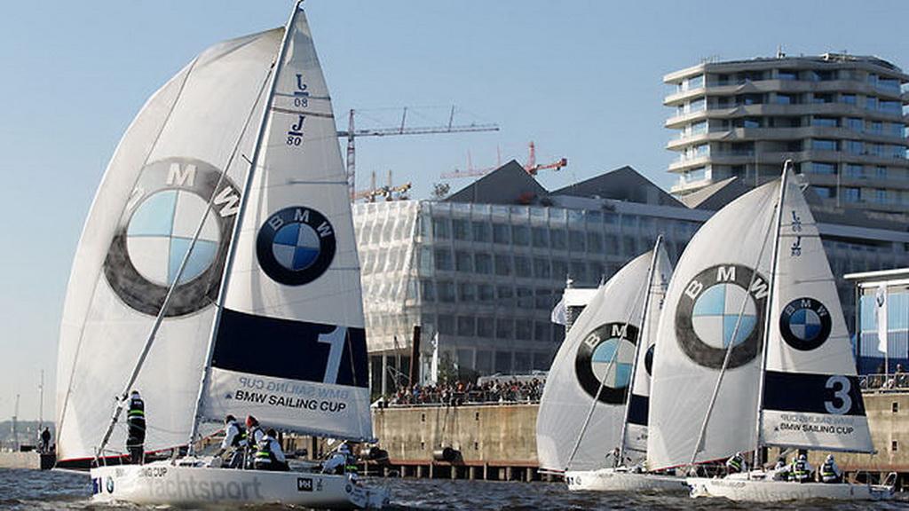 Deutschlandfinale auf der Elbe in Hamburg